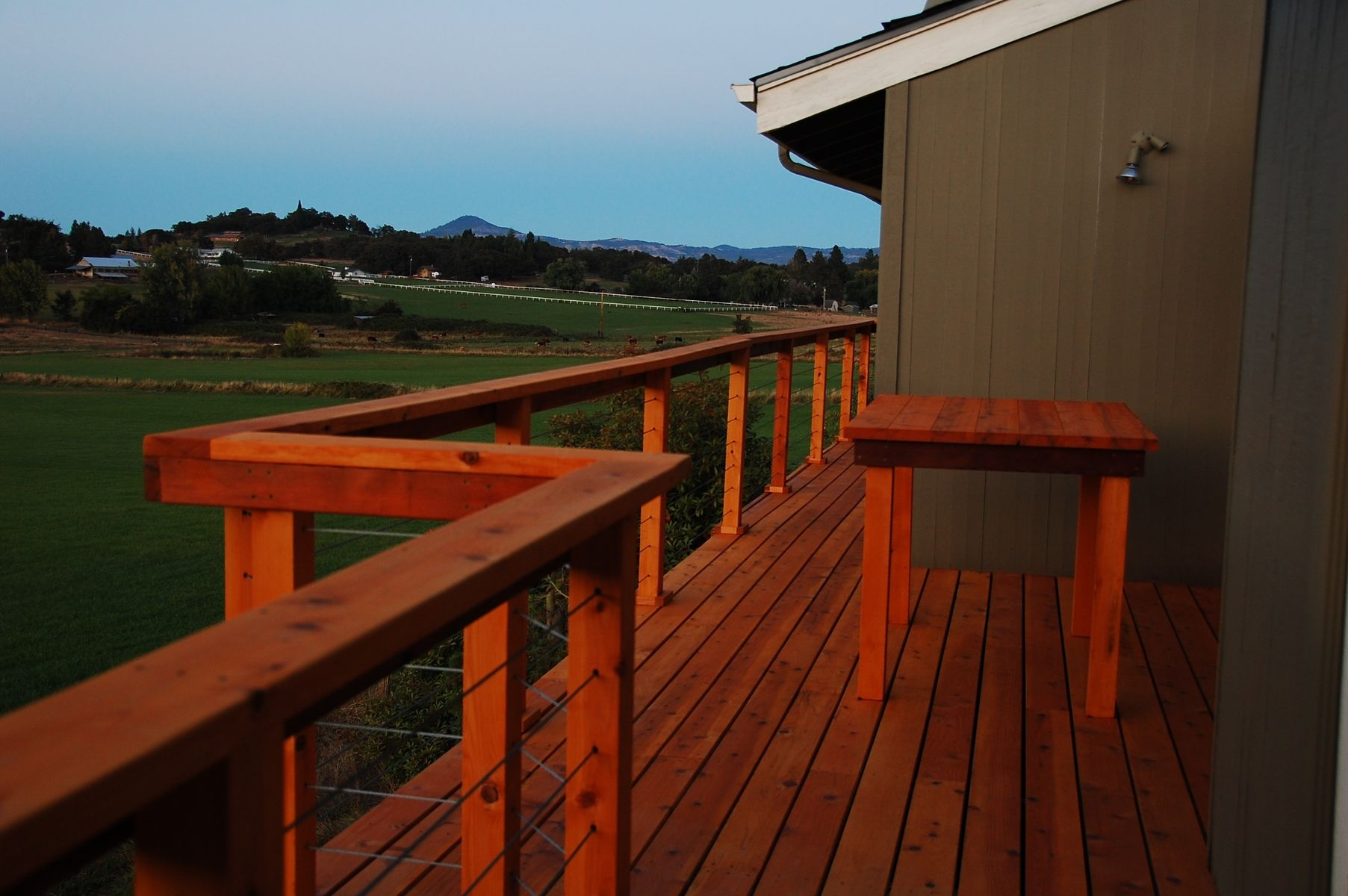 Hand Made Second Story Deck By Dagan Design Custommade Com