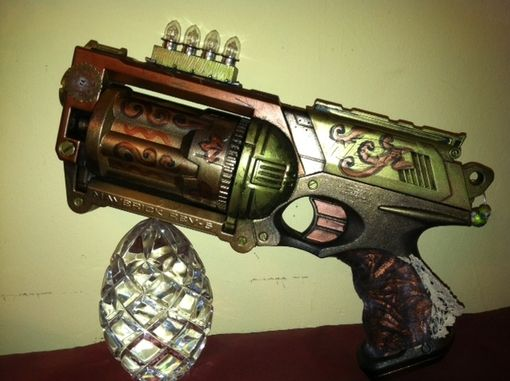 Custom Made Steampunk  Guns