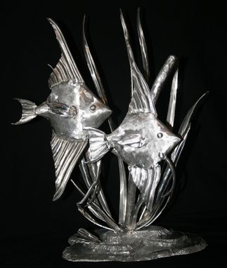 Custom Made Aluminum Fish Metal Sculptures