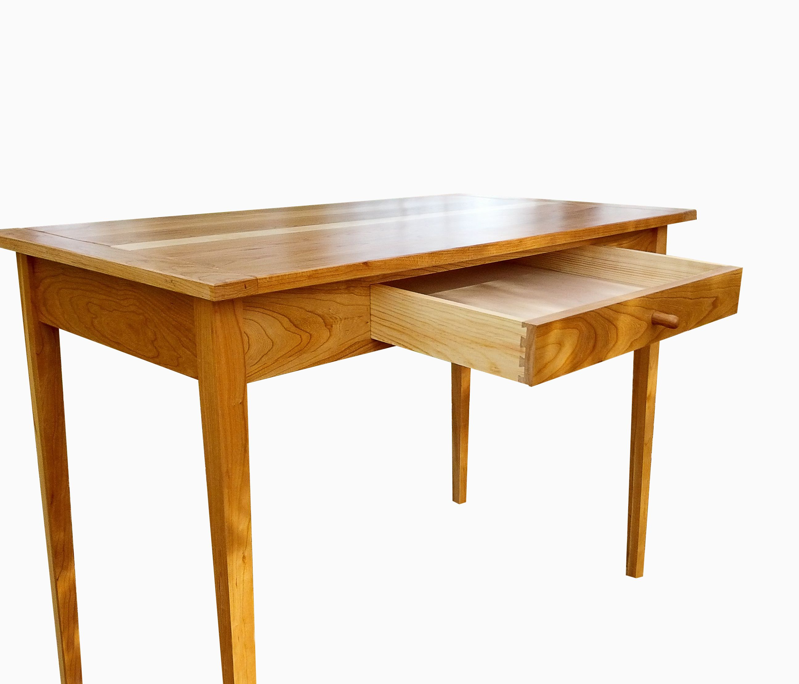 Desk Styles buy a custom cherry shaker style writing desk, made to order from