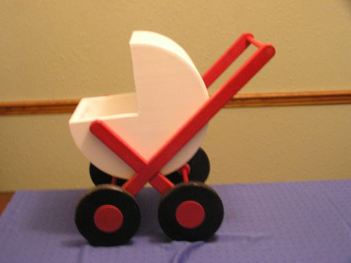 Custom Made Child's Doll Buggy