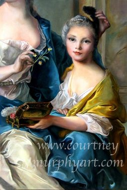 Custom Made Reproduction Of A Master Painting In Oil