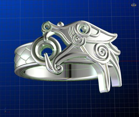 Custom Made Dragon Ring