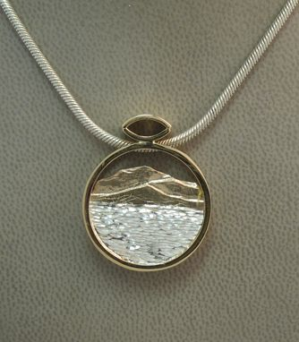"Custom Made ""Okanagan""  Scene Pendant"