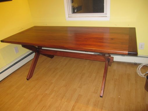 Custom Made Tresle Table
