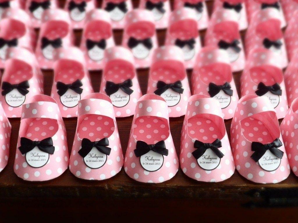 Custom Paper Baby Shoe Favors By Dear Betsy Custommade Com