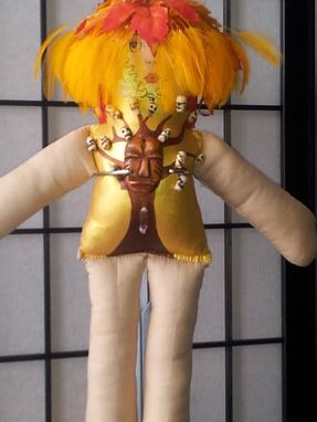 Custom Made Ooak Autumn Spirit Tree Of The Ancestors Spirit Doll©
