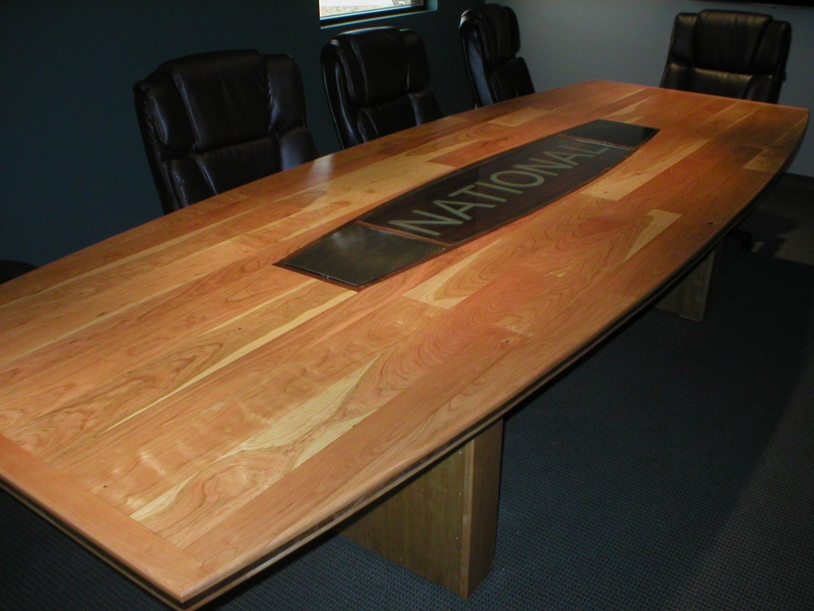 Hand Crafted Conference Room Table By Wst Arts Llc