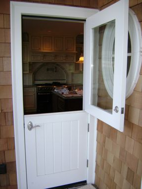 Custom Made Dutch Doors