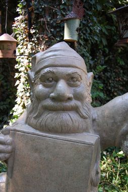 Custom Made Concrete Gnome