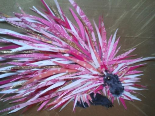 Custom Made Prickly Pink Porcupine Limited Edition Print