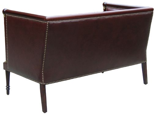 Custom Made Mahogany Sofa - Sold