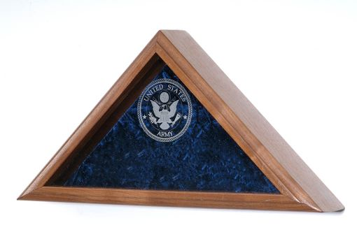 Custom Made Army Burial Flag Case