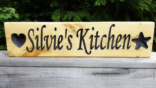 Custom Made Personalized Sign
