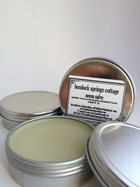 Custom Made Custom Blended Salves