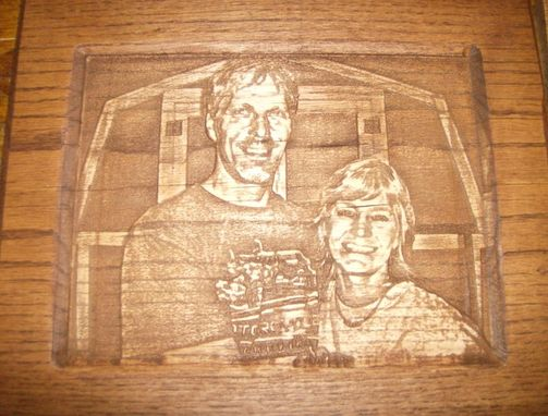 Custom Picture To Wood Portrait Carving By Custom Carving