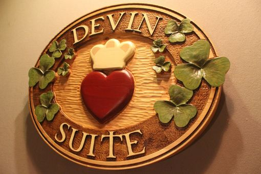 Custom Made Home Signs | Family Signs | House Signs | Shamrock Signs | Irish Signs | Cabin Signs
