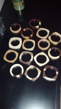 Custom Made Wood Bracelets