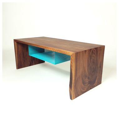 "Custom Made ""Elements"" Coffee Table"