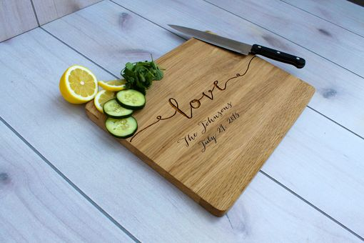 Custom Made Personalized Cutting Board, Engraved Cutting Board, Custom Wedding Gift – Cb-Wo-Love Johnsons