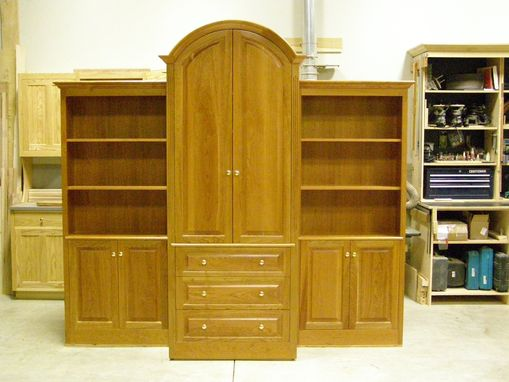 Custom Made Curved Top  Bookcase