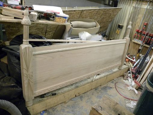 Custom Made Figured Bed