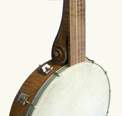 Custom Made Violjo - Modern Minstrel Style 5 String Open Back Banjo