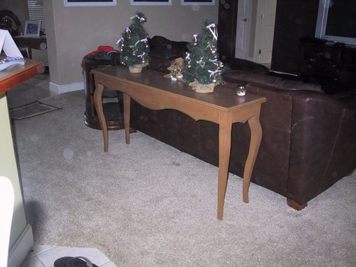 Custom Made Missy's Console Sofa Table