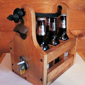 buy a hand crafted wine barrel handmade stave bottle opener with magnetic cap catcher made to. Black Bedroom Furniture Sets. Home Design Ideas