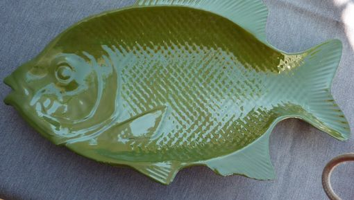 Custom Made Fish Platter-Green