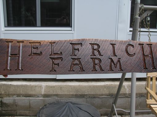 Custom Made Custom Carved Signs
