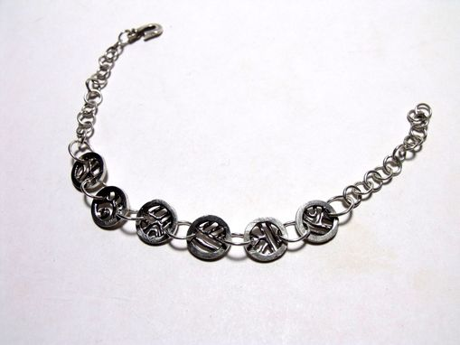 Custom Made Custom Cast Silver Bracelet