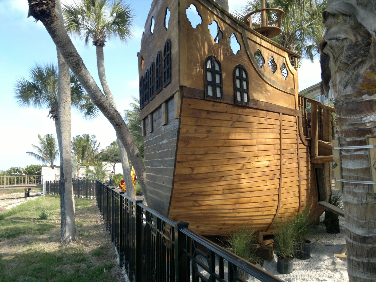 Custom Pirate Ship Play House By Rustic Wonders