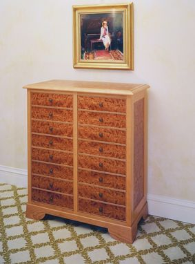 Custom Made Sheet Music Storage Cabinet