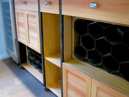 Custom Made Bar Room Built In Wall Unit