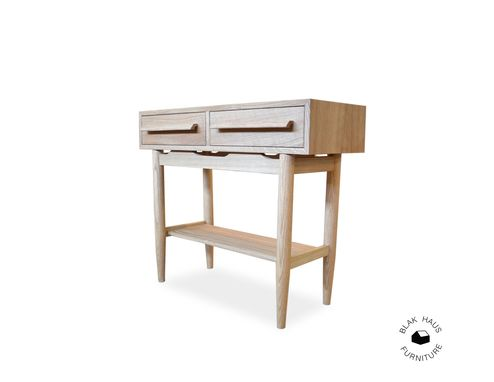 Custom Made Mid Century Design Console Table