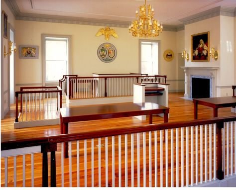 Custom Charleston County Courthouse by Art Of Woodwork