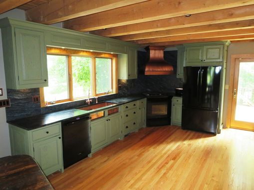 Custom Made Barn Wood Kitchen Cabinets & More