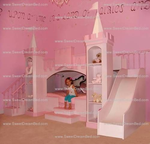 Hand Made Amazing Girls Princess Castle Theme Room By