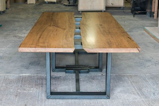 Custom Made Custom Live Edge Conference Table