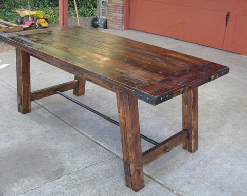Custom Made Benchwright Style Dining Table