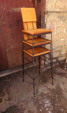 Brilliant Buy Custom Reclaimed Douglas Fir Stacking Bar Stools Made Machost Co Dining Chair Design Ideas Machostcouk
