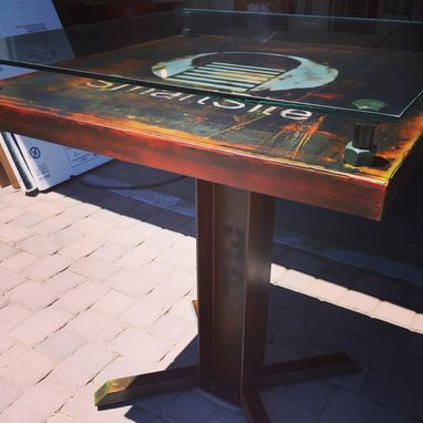 Custom Made Ayer Side Table