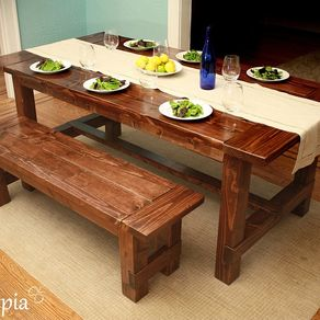 Farmhouse Dining Table By Monika Vokoun