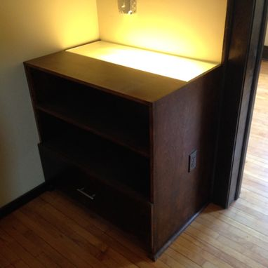 Custom Made Dressers With Back Lighting