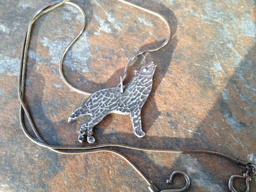 Custom Made Animal Pendant- Wolf