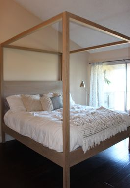 Custom Made Modern Canopy Bed