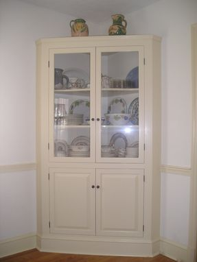 Custom Made Corner Cupboard