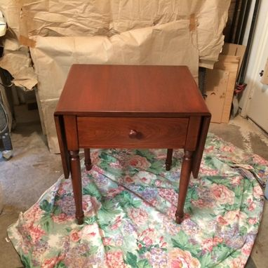 Custom Made Drop Leaf Game Table