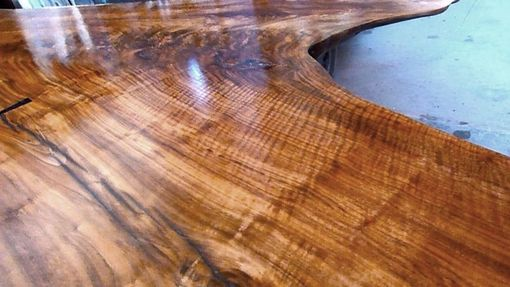 Custom Made Claro Walnut Conference Table
